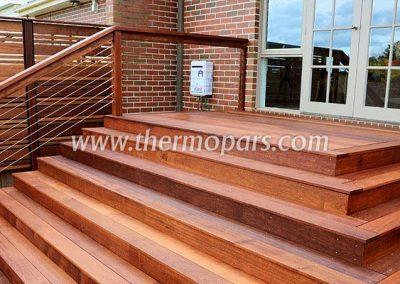پله و نرده ترمو